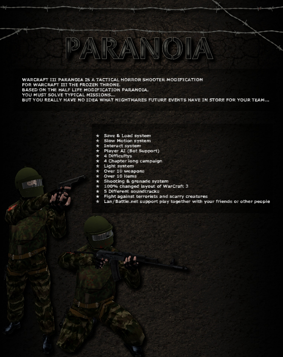 Paranoia...coming soon very soon.