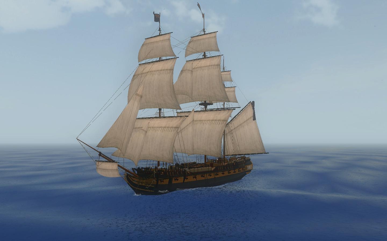 pirate ship wallpaper