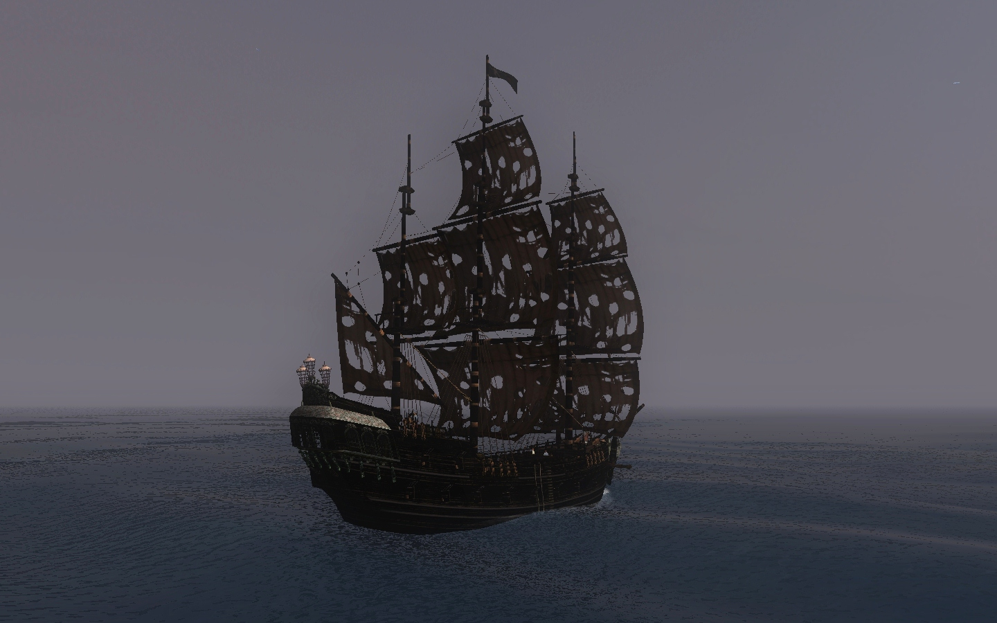 black pearl pirate ship wallpaper