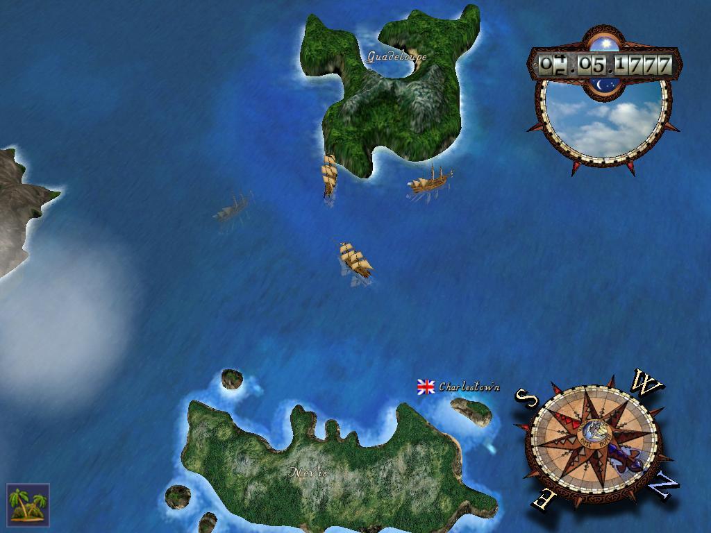 Realistic Worldmap Image Pirates Of The Caribbean New Horizons