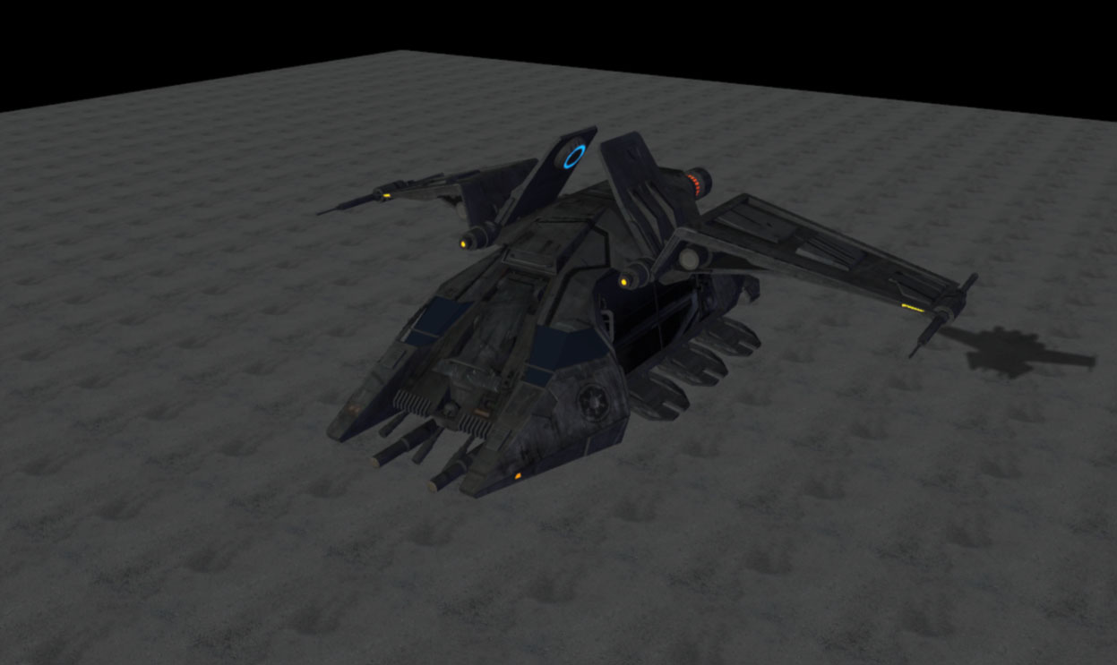 Star Wars Imperial Dropship