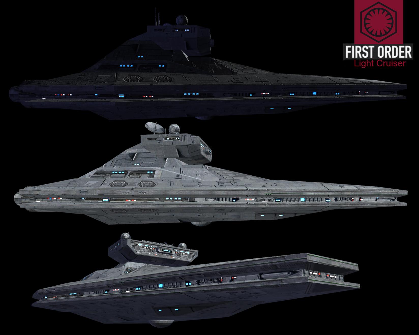 Bildergebnis für First Order Light Cruiser