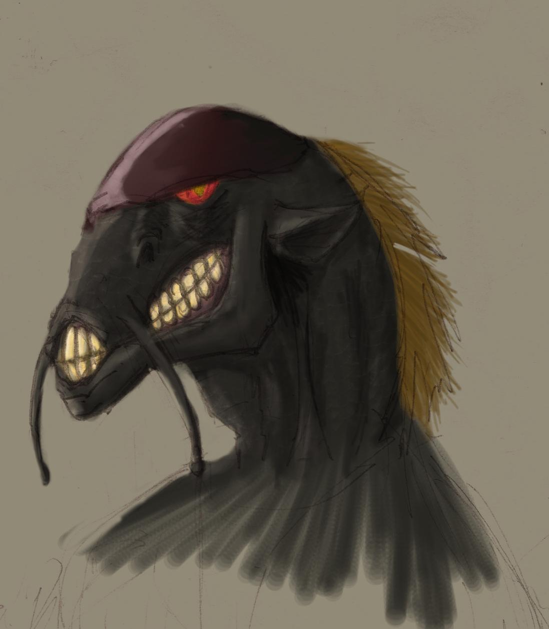 Original Concept Art For Alien Original Concept Art