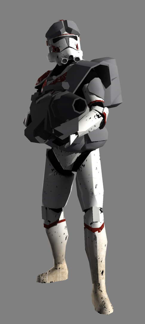 342nd Clone Heavy Gunner Image The Clones Of War Mod For