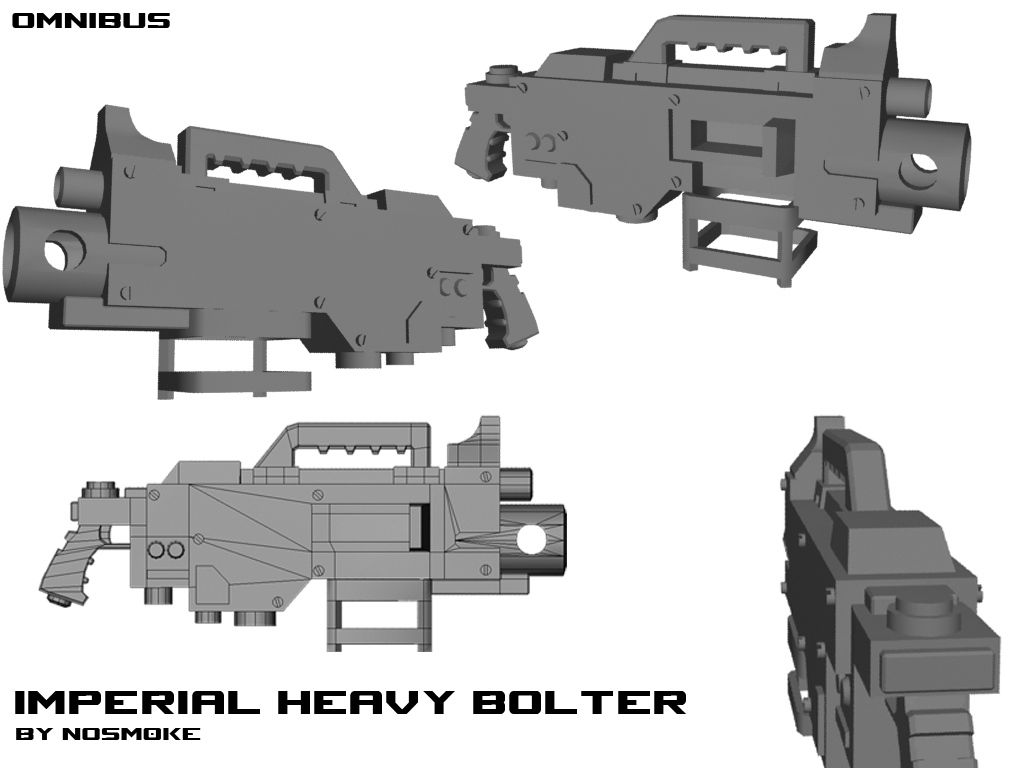 Quad Heavy Bolter Original Heavy Bolter