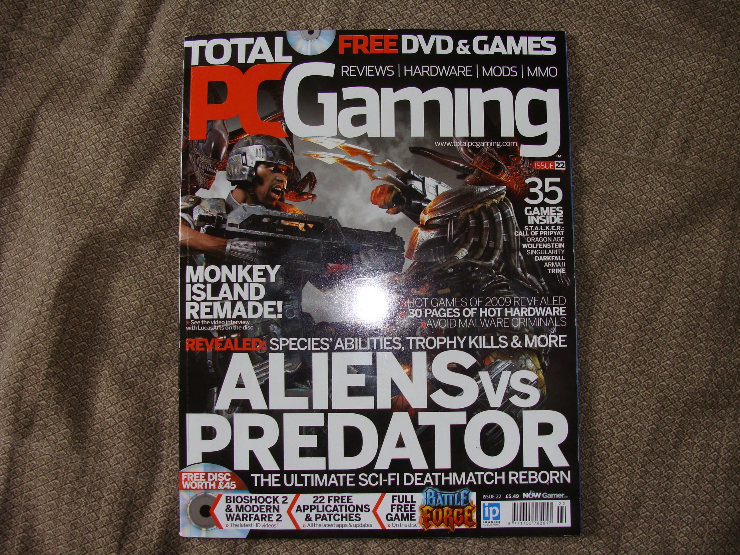 C&C Retarded: Red Cocaine in PC Gaming Magazine news - Mod DB
