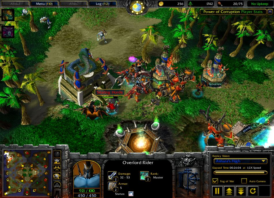 Скачать Warcraft III Garena Client RU Вышел патч 1.24C для WarCraft