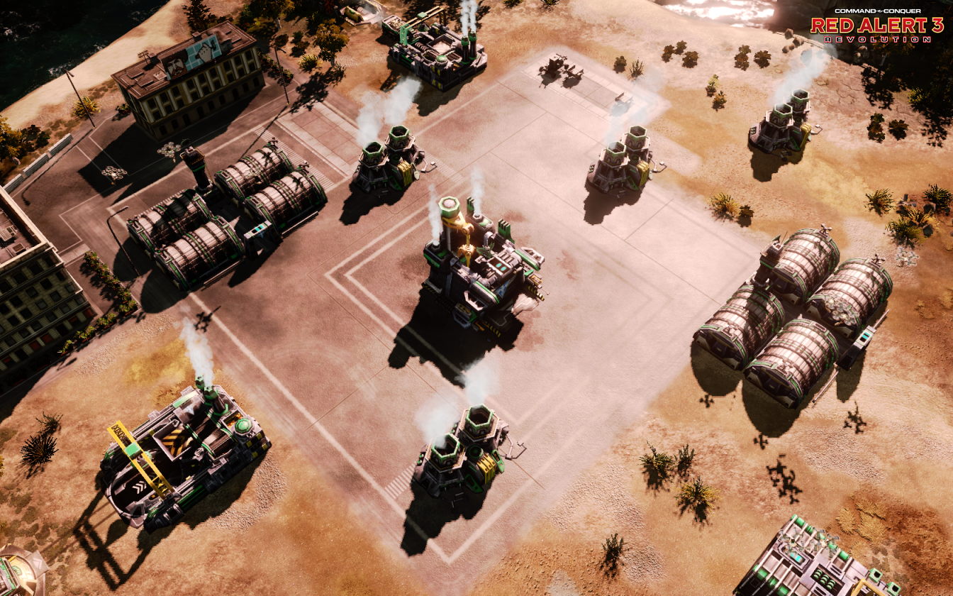 Enhanced Lighting For Uprising Maps Image Red Alert 3