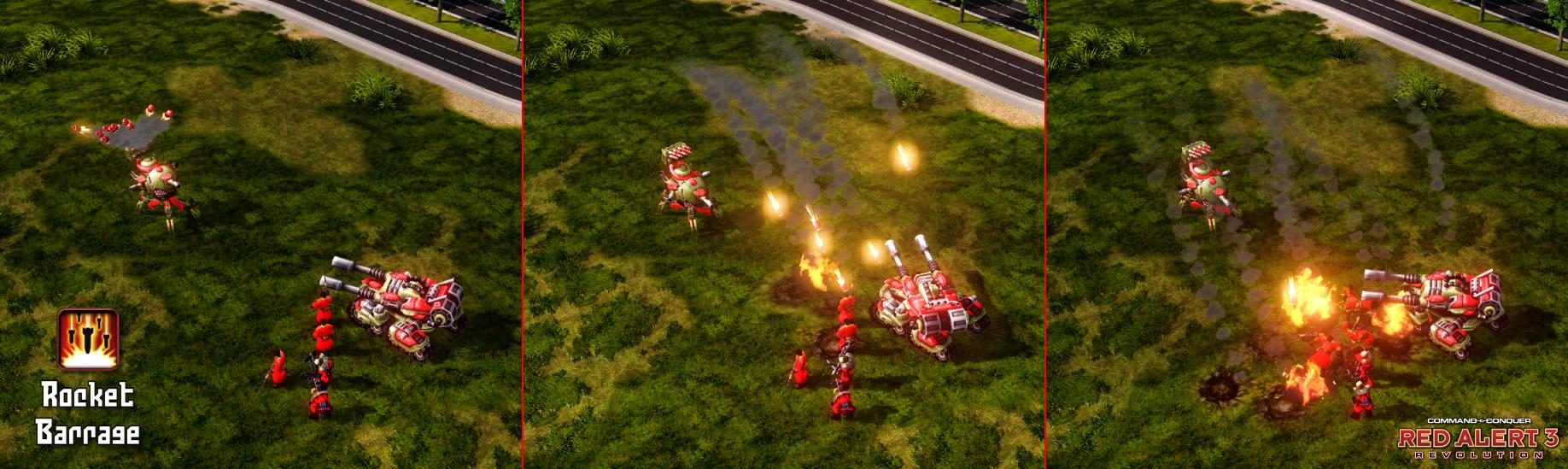 Reaper Rocket Barrage