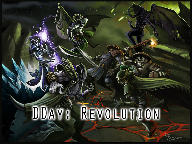 DDay: Revolution mod for Warcraft III: Frozen Throne - Mod DB