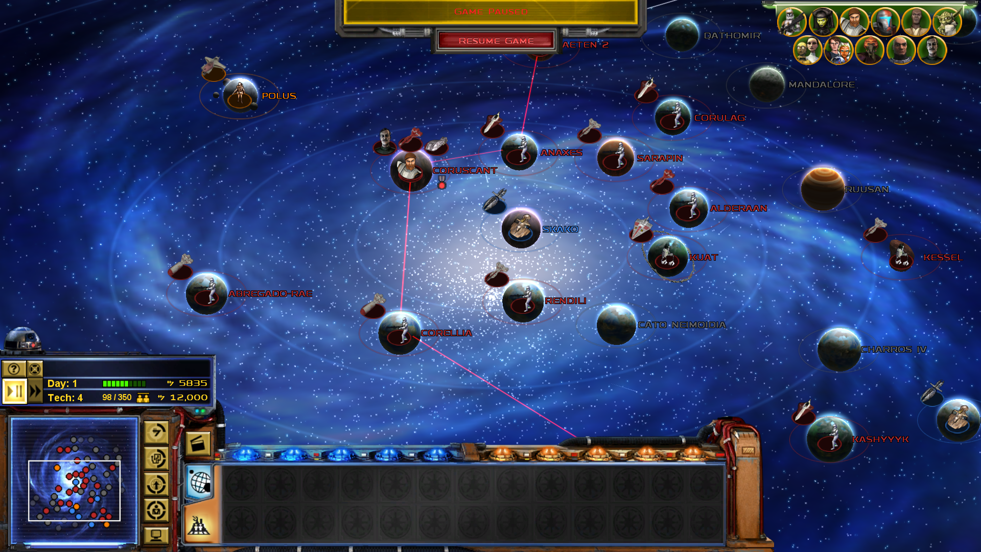 Galaxy image star wars clone wars mod for star wars empire at war