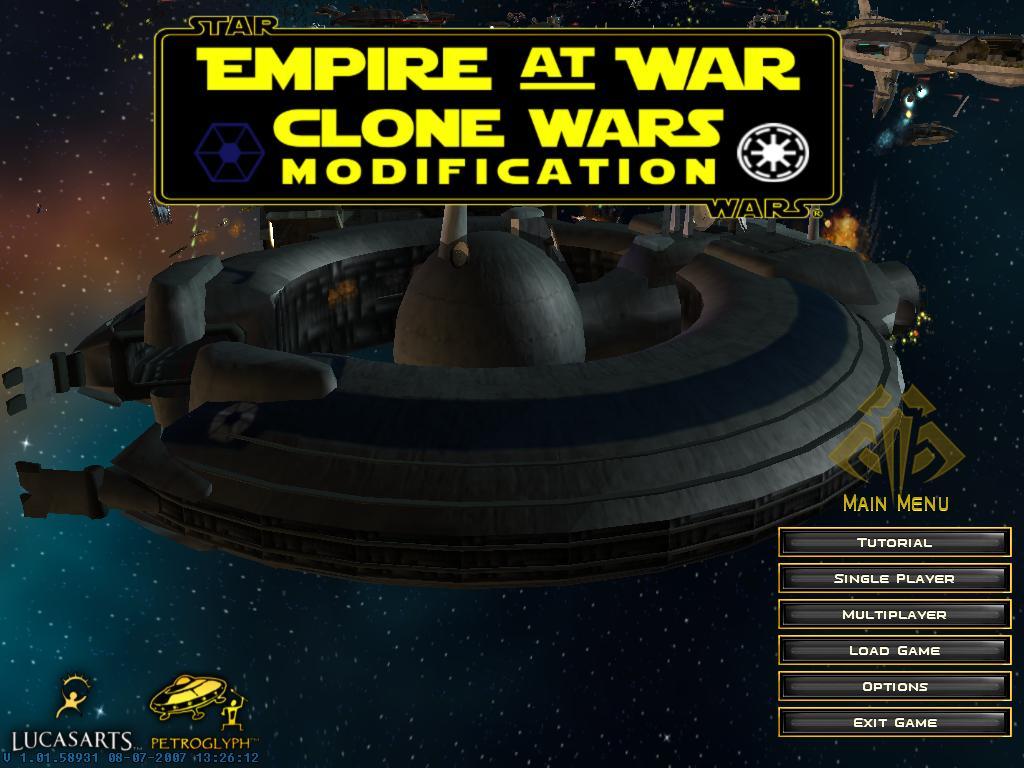 Star Wars Empire At War Mods Clone Wars 56