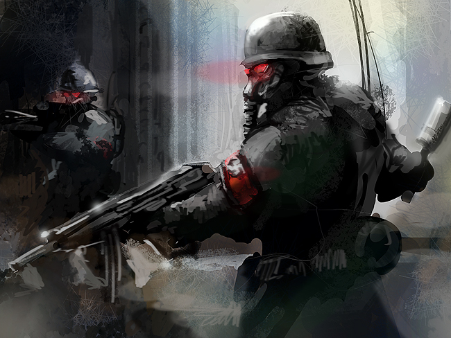 Media rss feed report media nazi soldiers concept art view original