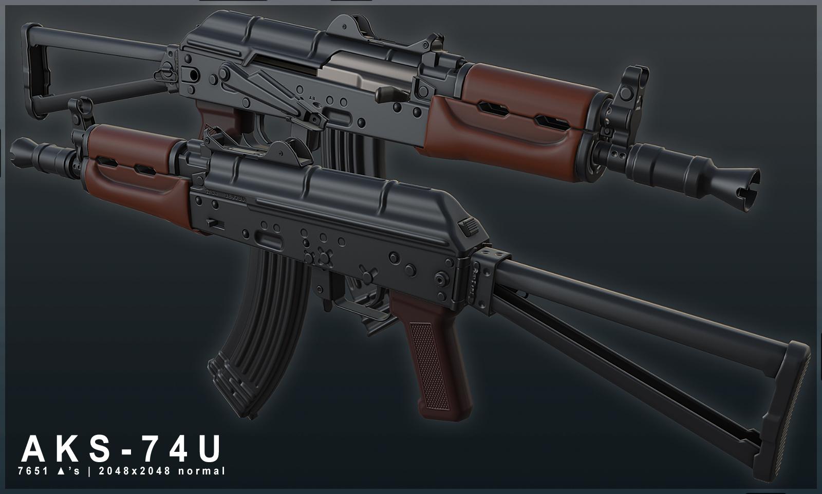 AKS-74U finished image - L.U.R.K. mod for S.T.A.L.K.E.R