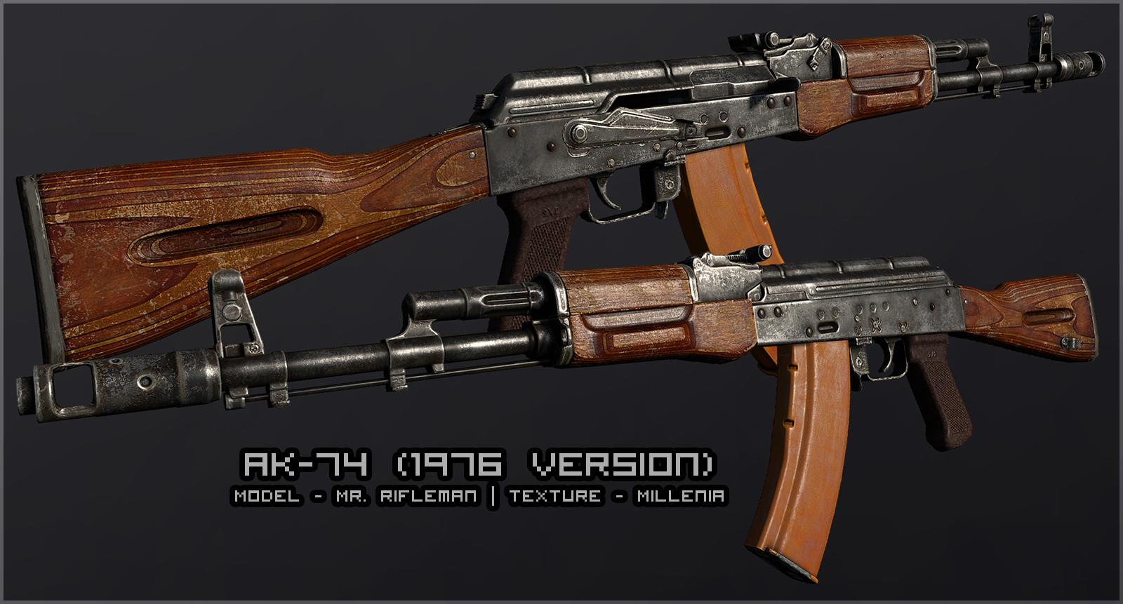 IMI Galil high poly image - L.U.R.K. mod for S.T.A.L.K.E.R