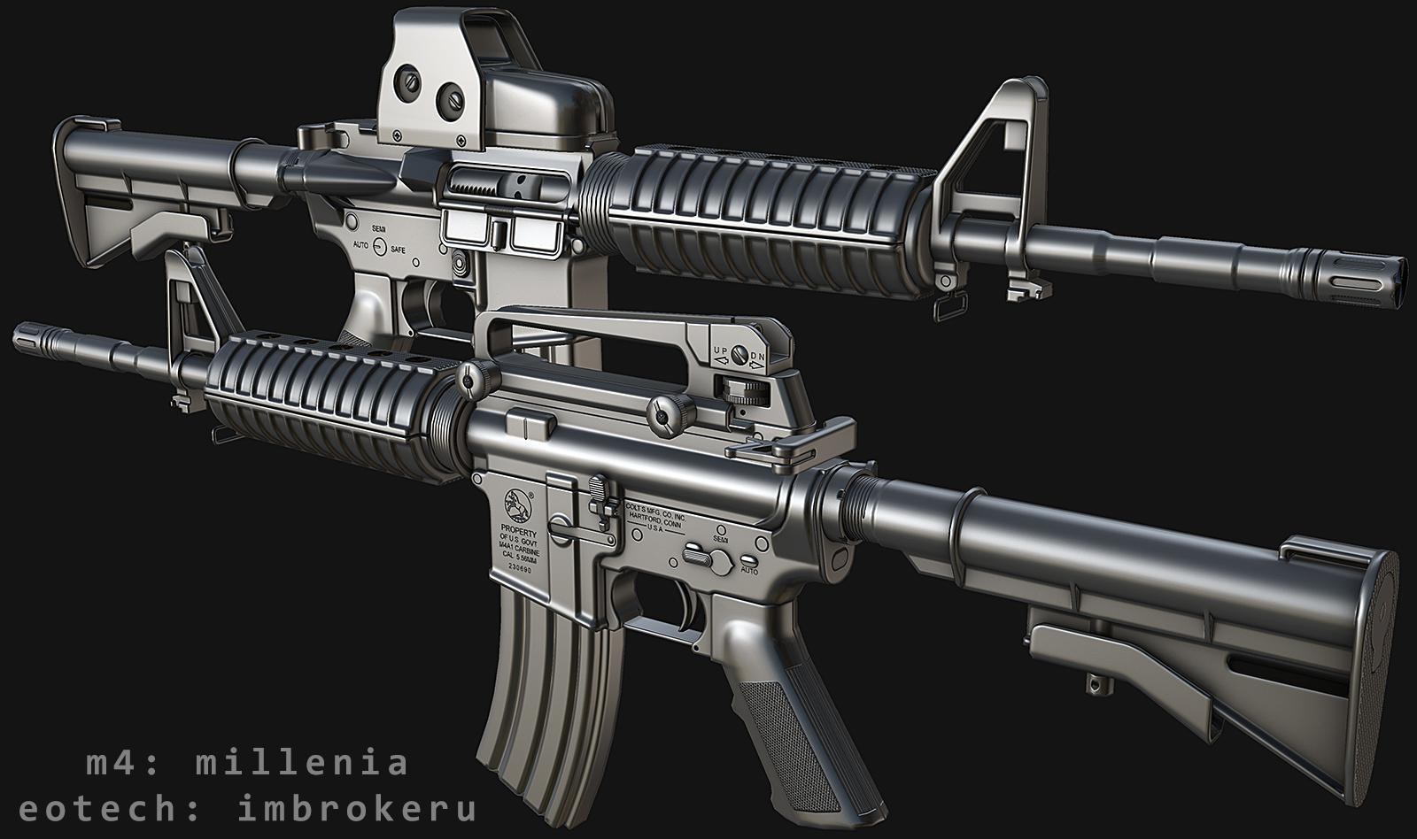FN FNC model image - L.U.R.K. mod for S.T.A.L.K.E.R
