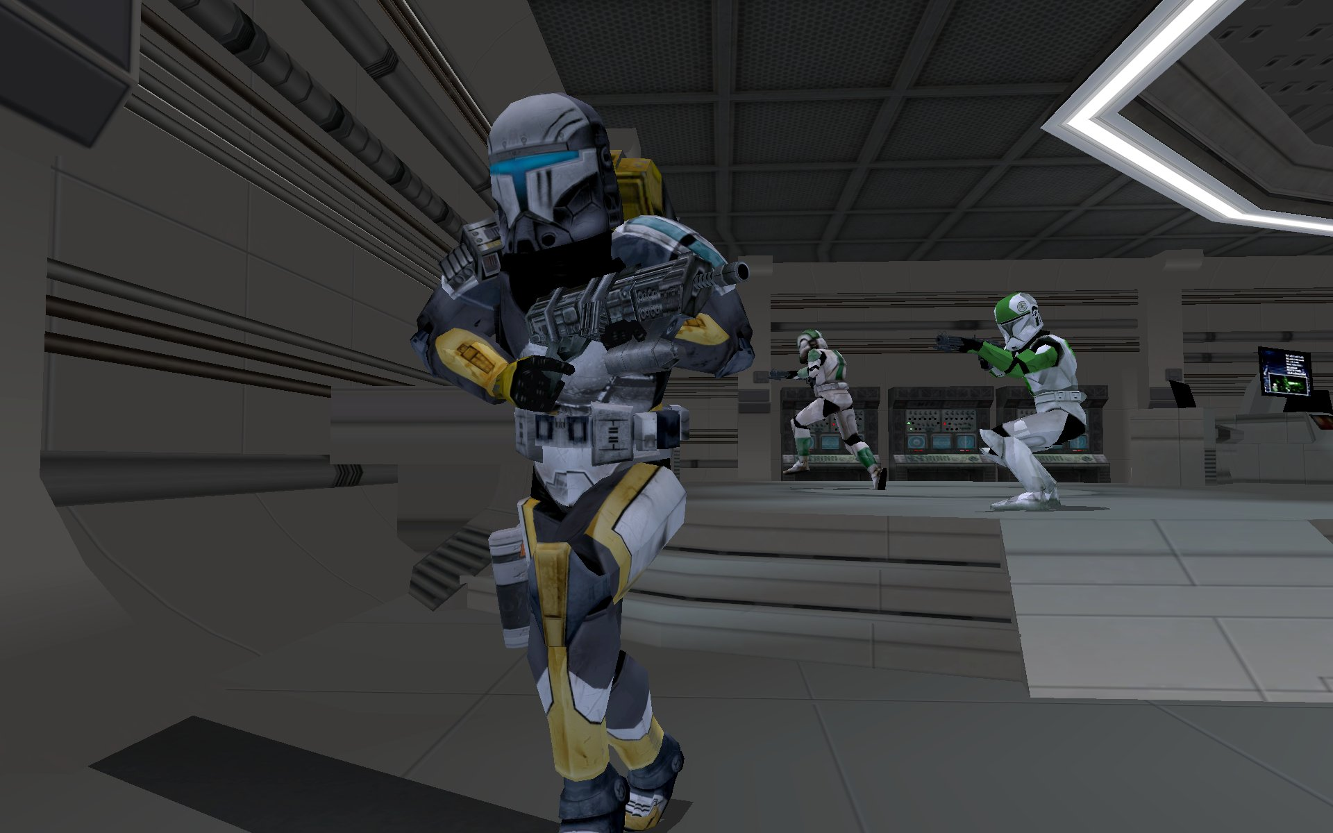 Star Wars Republic Commando Characters Aucw