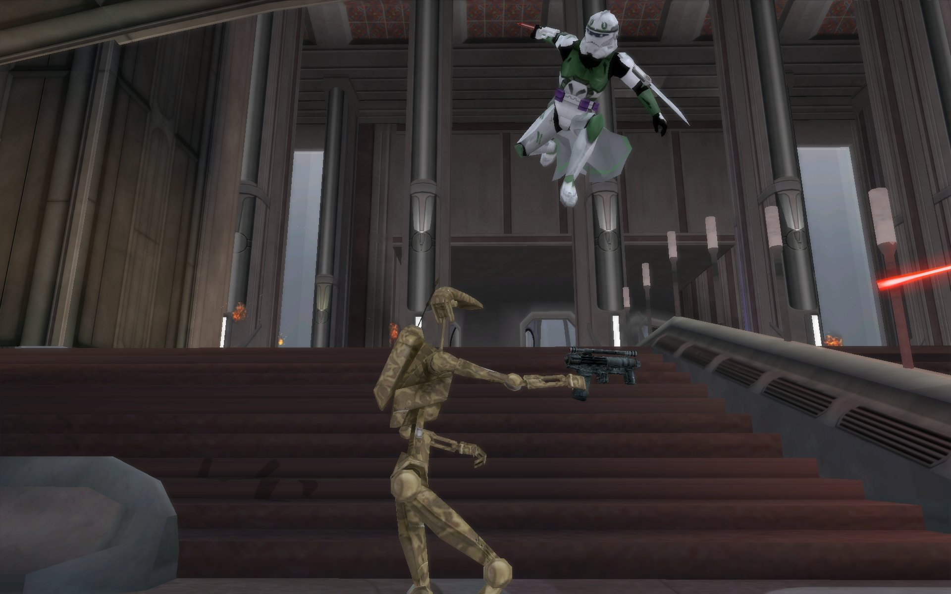 Screenshots Image Ultimate Battlefront The Clone Wars