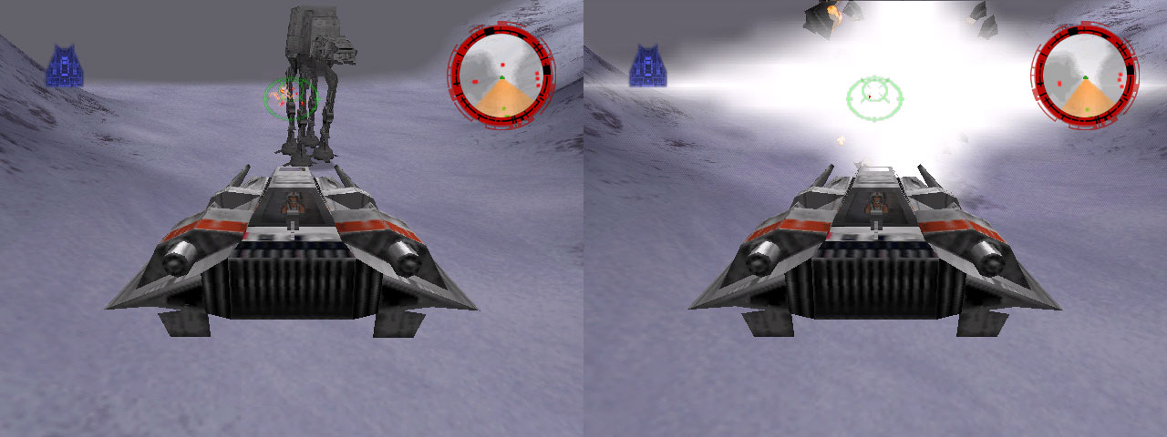 With laser power set to bomb you can blow up ATSTs image
