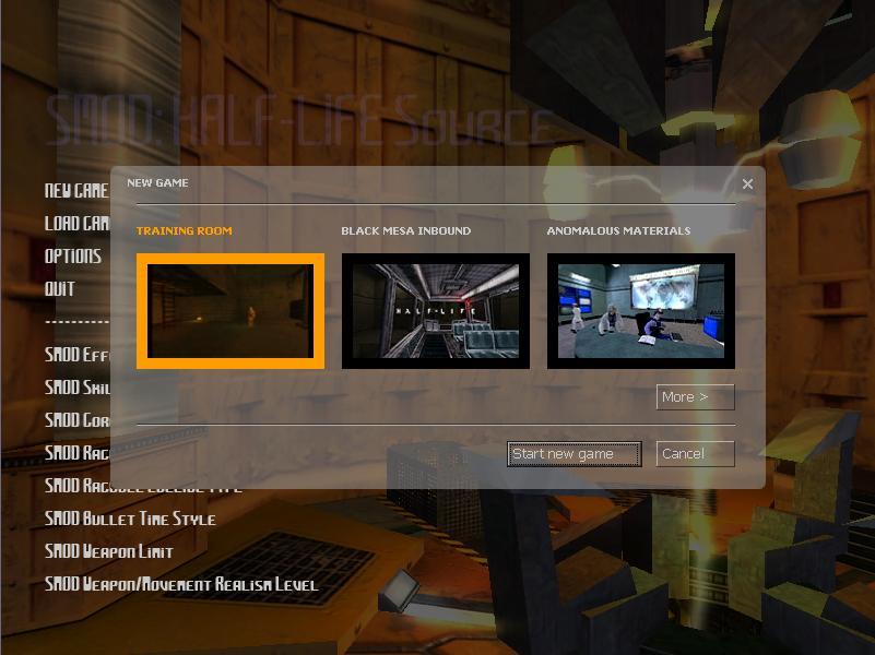 Half-Life Chapters Menu image - Mod DB