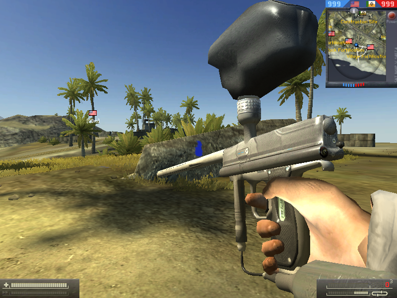 A mod that I made last year for bf2 it was very intresting lol Screen010