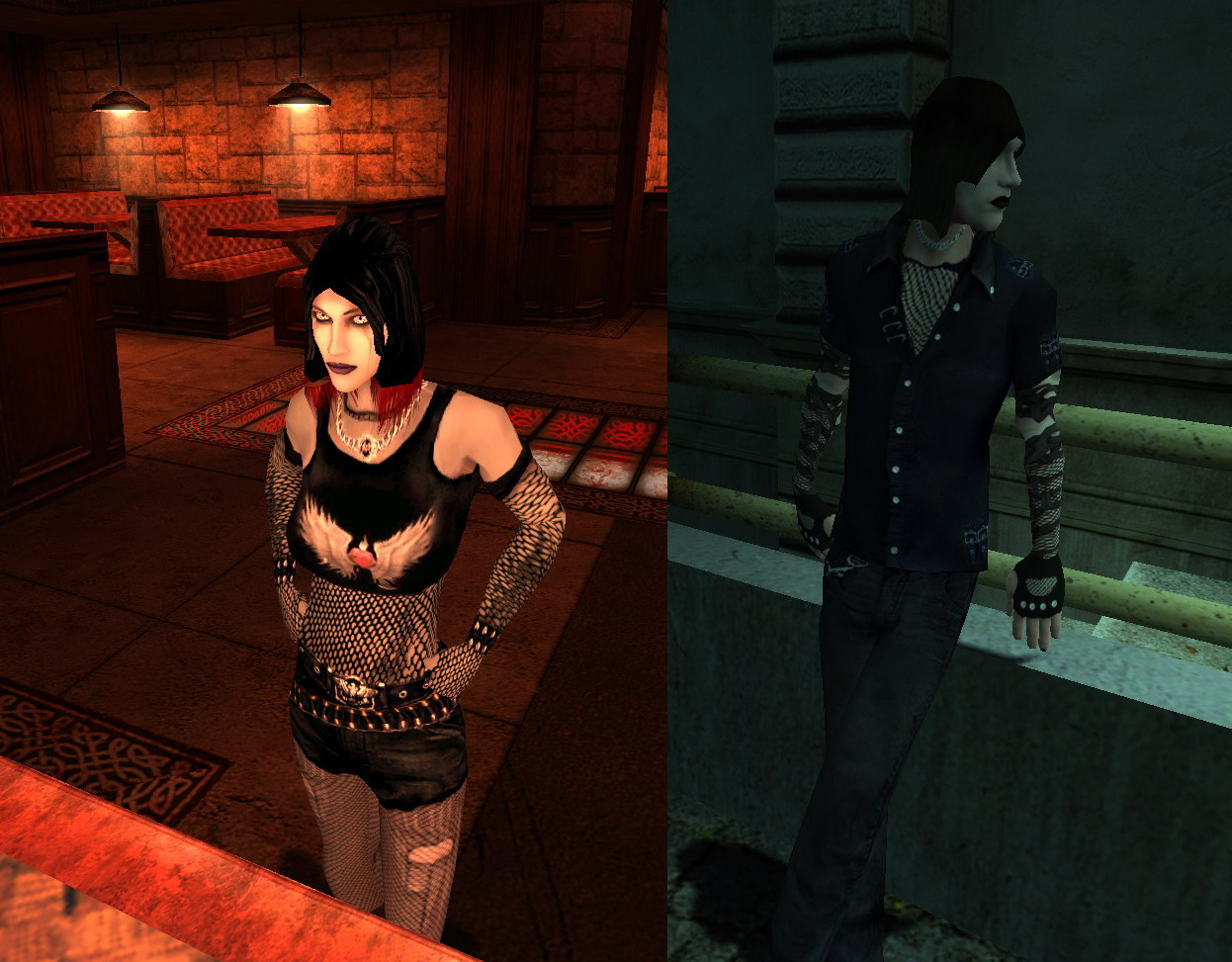 Vampire the masquerade bloodlines sexy mod softcore clips