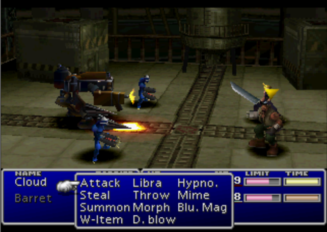 Prototype enemy skills image - Final Fantasy 7 - Rebirth