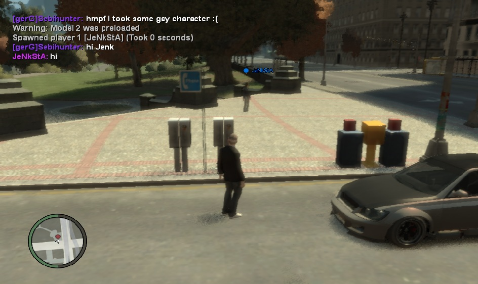 Random IV:MP Beta Screenshot (0.1 T4) #1 image - IV: Multiplayer (IV:MP) mod for Grand Theft Auto IV - Mod DB
