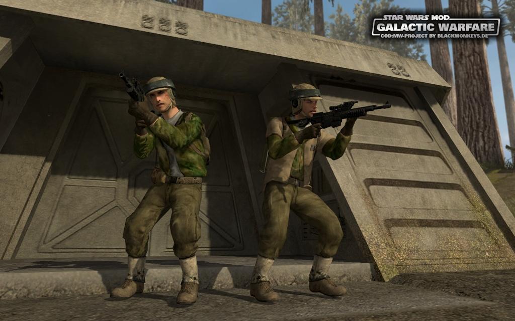 Star Wars Mod: Galactic Warfare Image