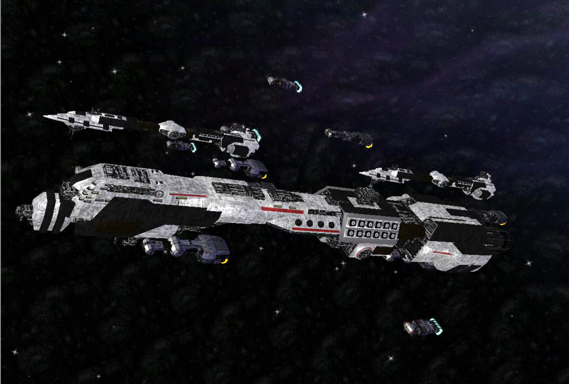 Corellian Battle Fleet With Improved Textures Image