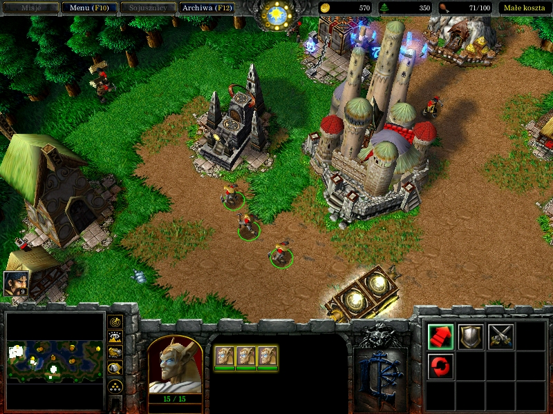 few High Elven buildings image - Heroes of Warcraft mod for