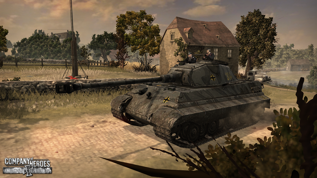 King Tiger Image Cross Of Iron Mod For Company Of Heroes Mod Db