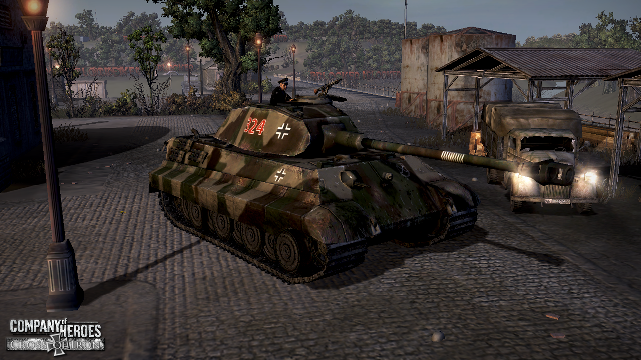 Konigstiger Image Cross Of Iron Mod For Company Of Heroes Mod Db