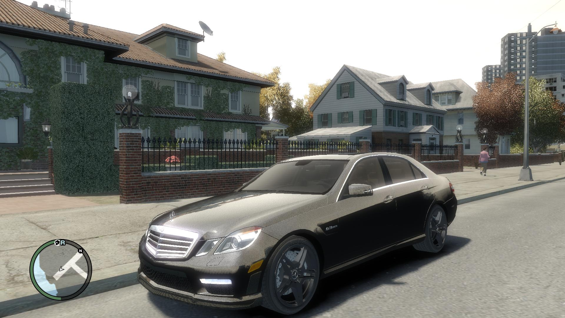Mercedes-Benz E63 AMG image - Real Cars For GTA 4 mod for ...