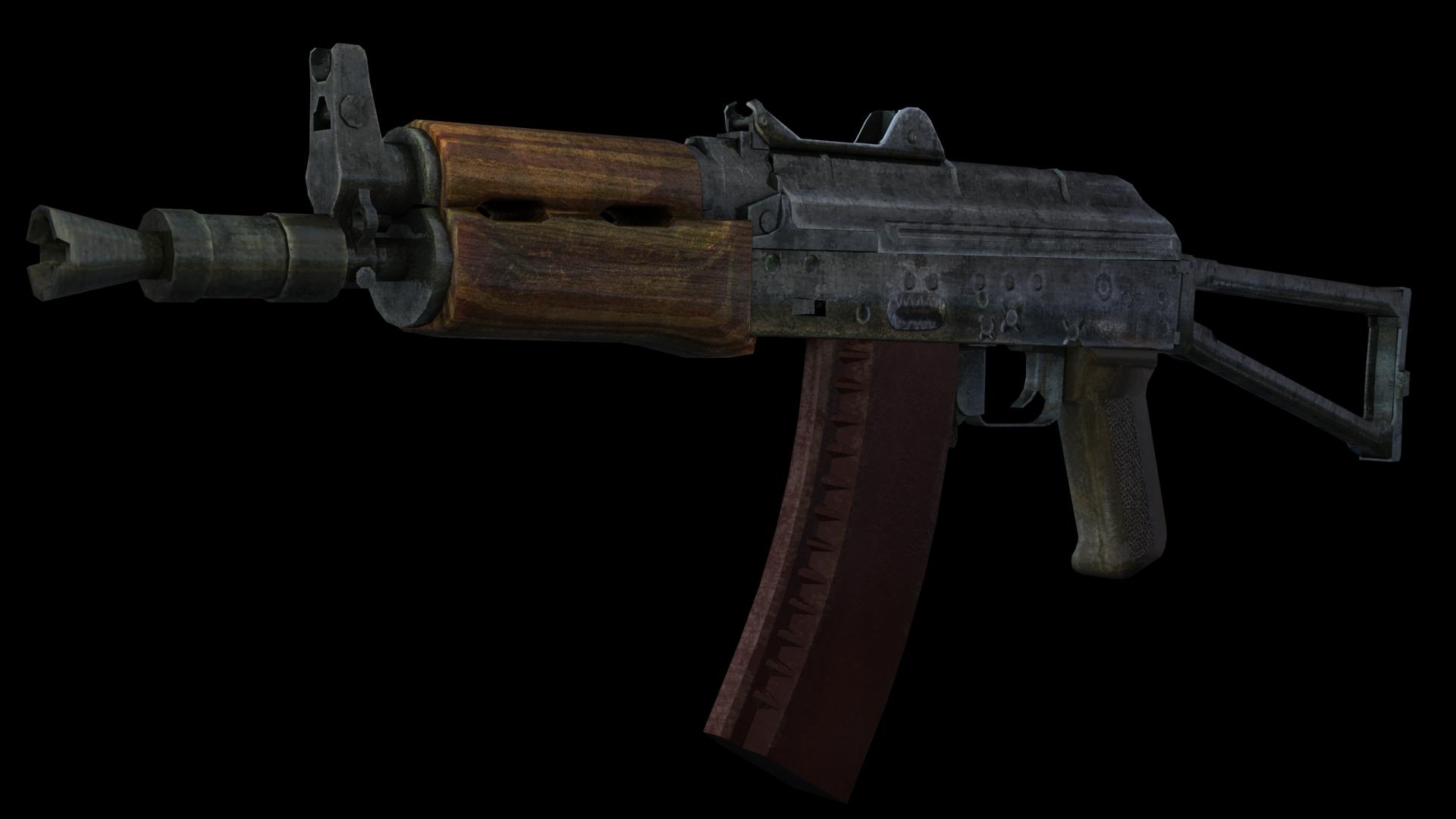 AKS-74U 5 by Garr1971 on DeviantArt