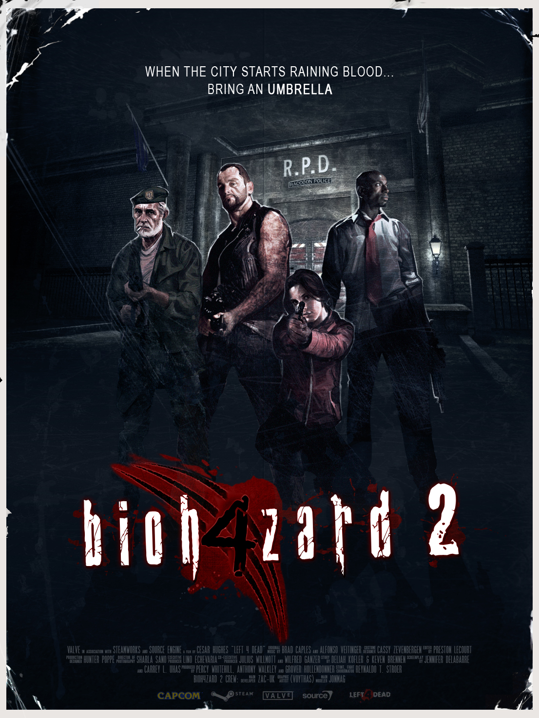 Campaign Poster image - Bioh4zard 2 mod for Left 4 Dead - Mod DB
