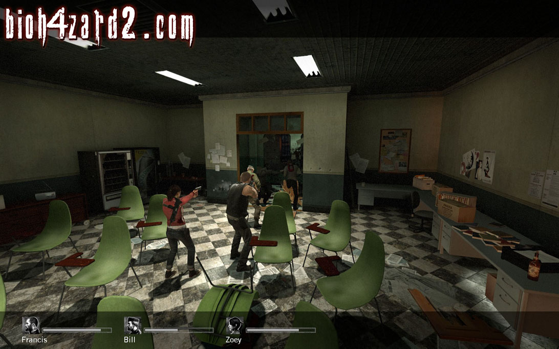 Conference Room Image Bioh4zard 2 Mod For Left 4 Dead