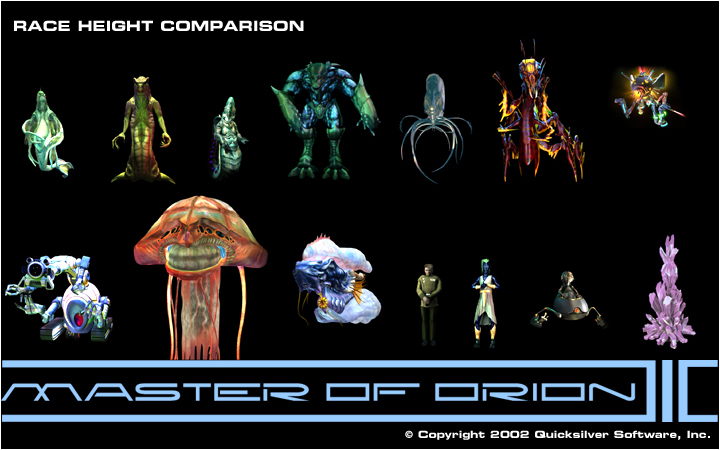 Race Height Comparison image - Master Of Orion 3 Master ...