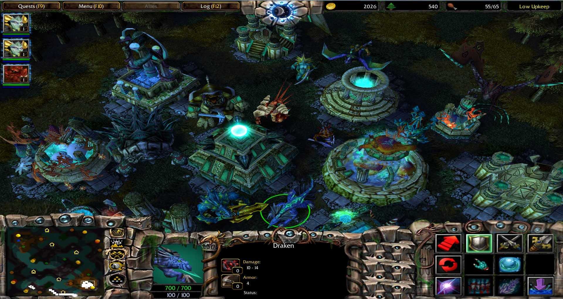 how to play warcraft 3 frozen throne for free