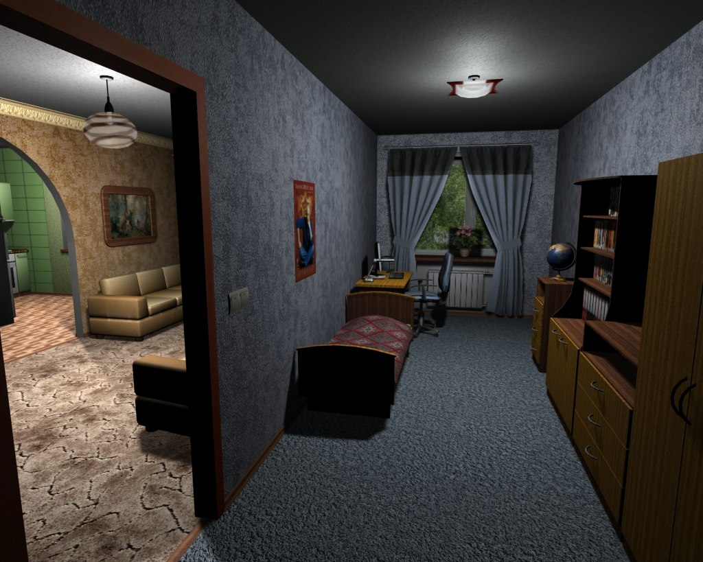 new interior gta iv image united russian mod criminal russia iv for grand theft auto iv. Black Bedroom Furniture Sets. Home Design Ideas