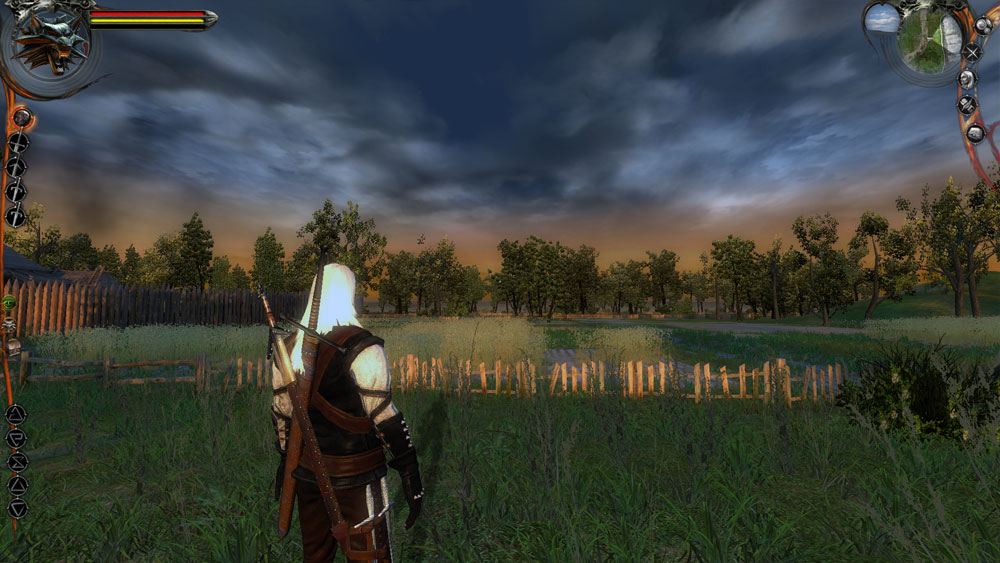 Awesome Hud Image - The Witcher  Inferno Edition Mod For The Witcher