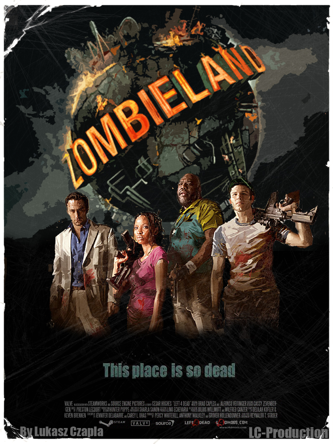 Left 4 dead 2 zombies game