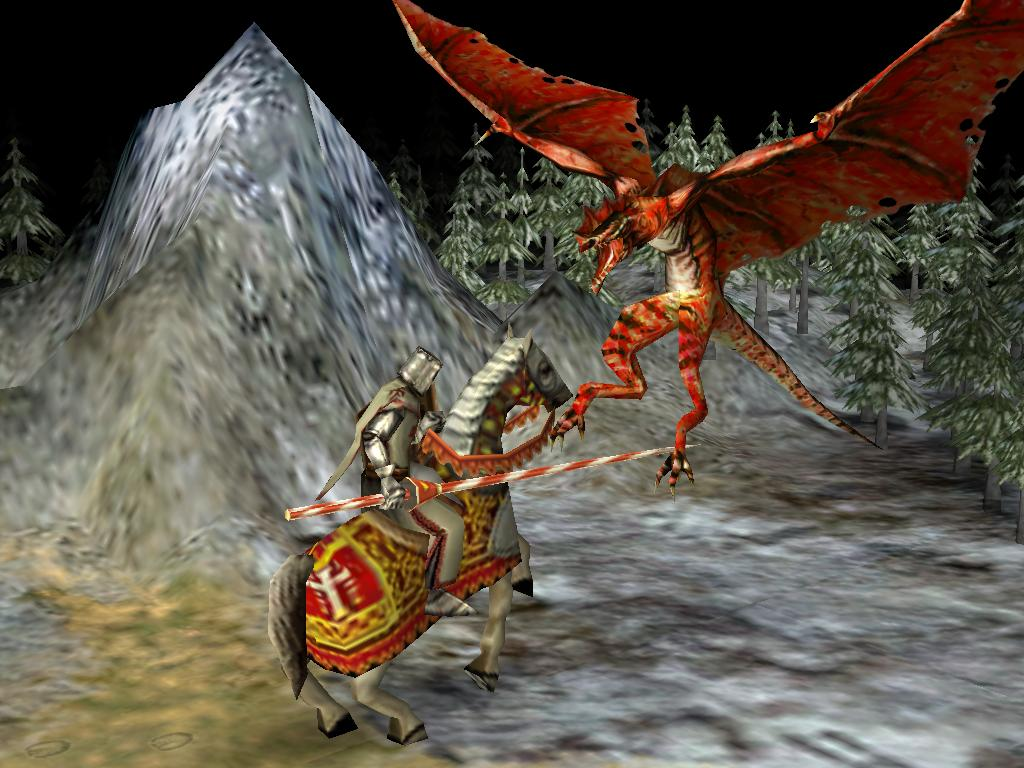 fighting the dragon image fairy tale mod for civilization iv