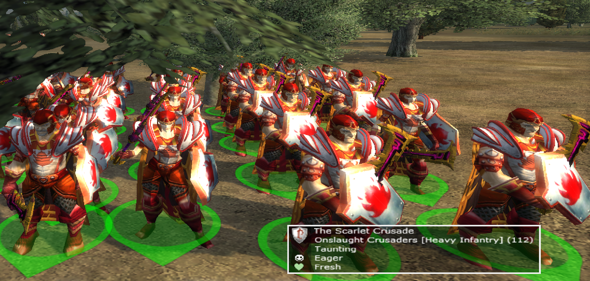 New Scarlet Crusade unit -