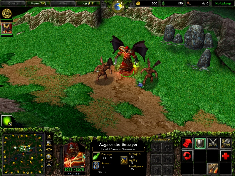 More Warcraft III: The Frozen Throne Mods, the 1.24e English language patch for. . H