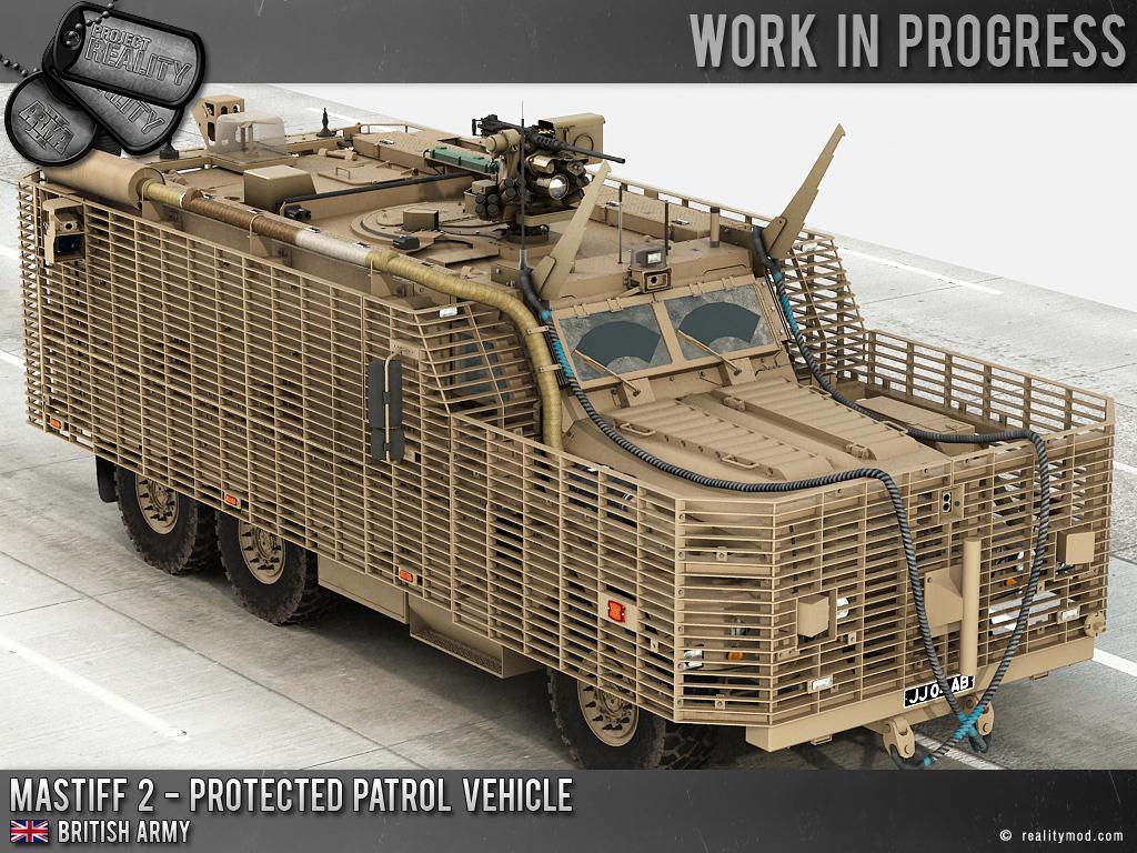 File:Mastiff 3 Protected Patrol Vehicle in Afghanistan MOD ...