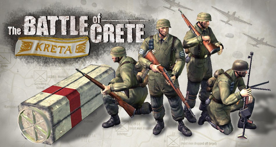 Battle Of Crete Mod For Company Of Heroes Opposing Fronts Mod Db