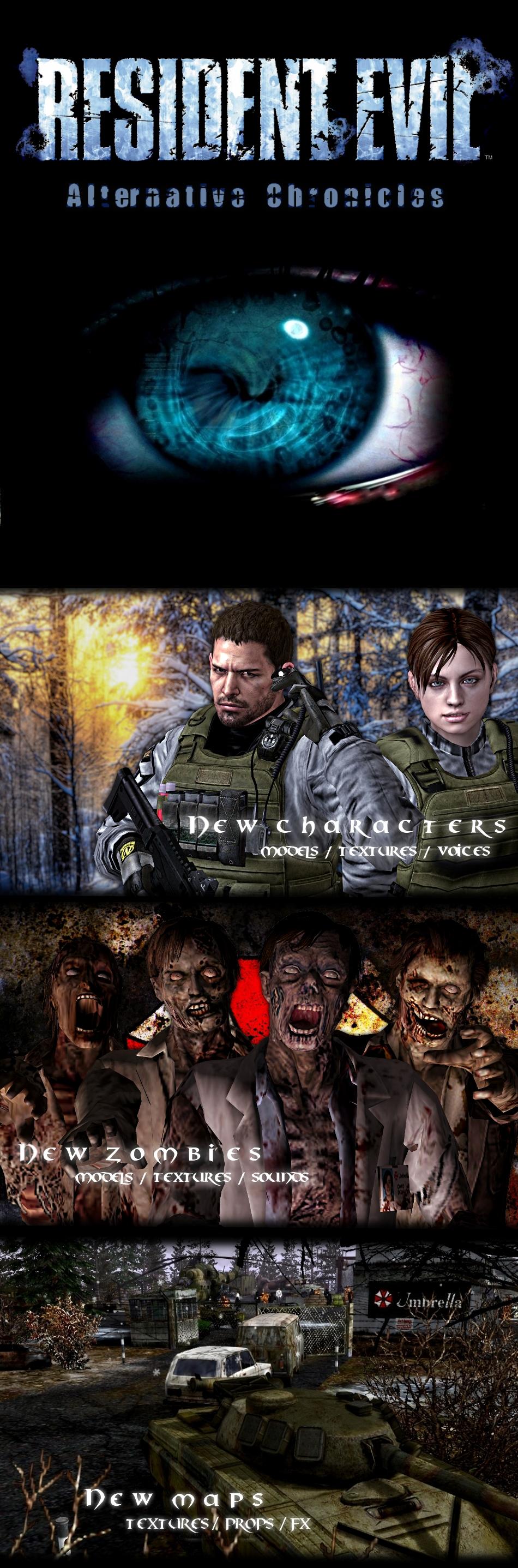 Resident Evil : Alternative Chronicles mod for Men of War: Assault