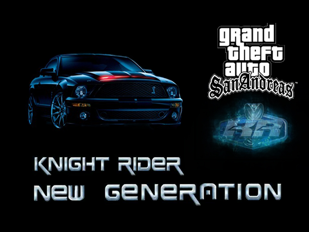 Knight Rider New Generation Mod For Grand Theft Auto San Andreas Knightrider Lights Model Cars Db