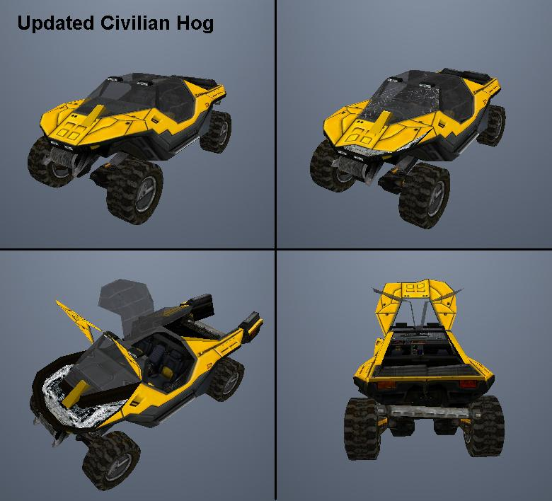 Updated Civilian Warthog Image
